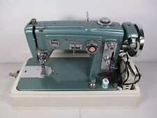 Vintage Brother Sewing Machine Select-O-Matic Light Industrial Strength & Case