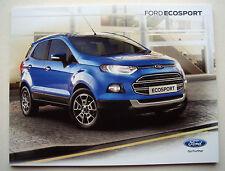 Ford Ecosport. Ford Ecosport. FOLLETO de ventas de enero de 2016