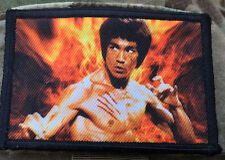 Bruce Lee Morale Patch Milspec Tactical Kung Fu Martial Arts Dragon movie