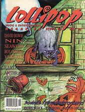 lollipop magazine #20 oct. 1995 david bowie nine inch nails boy george seaweed