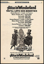 Alice In Wonderland_an X-Rated Musical__Original 1976 Trade AD poster__BILL OSCO
