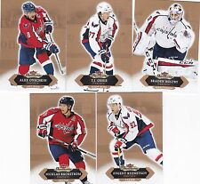 WASHINGTON CAPITALS 2016-17 16-17 FLEER SHOWCASE TEAM SET (5) OVECHKIN HOLTBY +