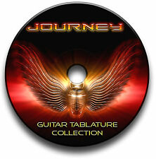 JOURNEY ROCK GUITAR & KEYBOARD TABS TABLATURE SONG BOOK SOFTWARE CD