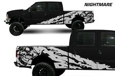 Vinyl Decal Nightmare Wrap Kit for Ford F-250/F-350 Truck 1999-2006 Matte White