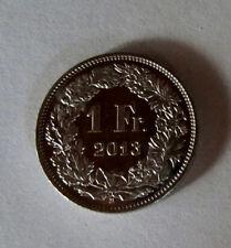 """Münze 1 Schweizer Franken 2013 """"B"""" aus Umlauf gültiges Zahlungsmittel"""