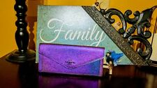 Coach Soft Wallet in Hologram Leather Iridescent 57213 NEW with Tags ! SOLD OUT