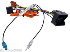 VAUXHALL CORSA C 2004 to 2006 ISO LEAD HARNESS ADAPTOR STEREO AERIAL CC20 CD30