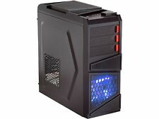 Rosewill Galaxy-03 ATX Mid Tower Black Gaming Computer Case w/ Front LED Fan