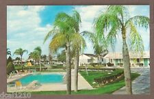 VINTAGE POSTCARD TOWER VIEW MOTEL LAKE WALES FLORIDA