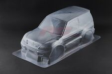 Tamiya 1825846 1/10 RC CC01 Truck 58602 Mitsubishi Pajero Rally Clear Body Parts