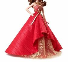 2014 Holiday BARBIE  DOLL RED & GOLD  DRESS,BRAND NEW  DRESS ONLY