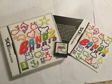 NINTENDO DS NDS DSL DSi XL GAME BANDZ MANIA +BOX INSTRUCTIONS / COMPLETE GWO