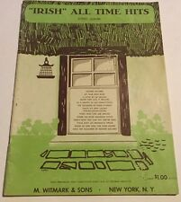 VINTAGE IRISH ALL TIME HITS SONG ALBUM 12 SONGS 1951