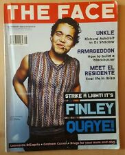 Vintage The FACE Magazine Aug 1998 Finlay Quaye by Elaine Constantine Cover