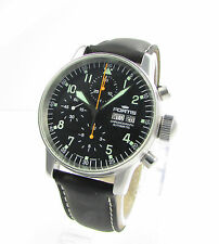 Fortis Flieger Day-Date  Automatik Chronograph-gr. 40 mm Modell
