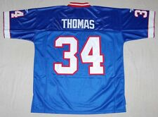 THURMAN THOMAS BUFFALO BILLS REEBOK NFL SEWN THROWBACK JERSEY M