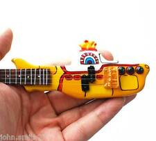 Miniature Guitar The Beatles Yellow Submarine Shaped Bass Lefty Special Edition