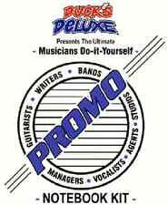 画- The Ultimate Musicians Promo Organizer Notebook Kit-