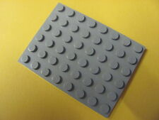 LEGO 3036 @@ Plate 6 x 8 (x1) @@ Plaque @@ OLD GREY @@ GRIS
