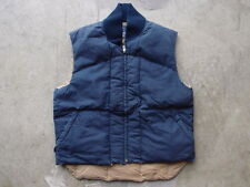 Vintage 90s Polo Ralph Lauren Down Vest Size M S Navy Quilted RRL