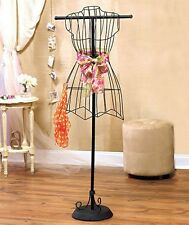 Vintage Look Wire Dress Form Mannequin Boutique Home Display