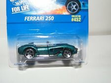 1:64 Hot Wheels 1996 Authentic Styling Ferrari 250 Die Cast Car