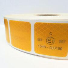 10m Diamond Grade™ 987 / UN ECE R 104 / Reflexfolie gelb LKW Planen / Geocaching