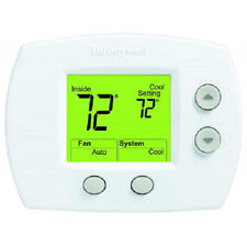 Honeywell TH5110D1022 Focus PRO 5000 Thermostat, 1H/1C Large Display