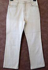 Pantalon (Jean femme) T36 -Jean beige fin strech coupe droite I-QUING (1512208)
