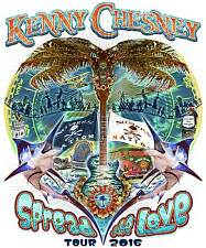 "KENNY CHESNEY ""SPREAD THE LOVE TOUR 2016"" POSTER - Country Music Legend!"