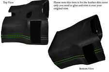 GREEN STITCH STEERING SHROUD LEATHER COVER FITS PORSCHE 986 BOXSTER&CARRERA 996