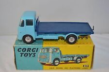 Corgi Toys 457 E.R.F. Model 44G Platform Lorry perfect mint in box