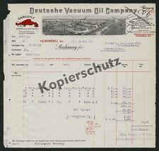 Rechnung Bad Aibling Tankstelle Auto Benzin Ölraffinerie Wedel Schulau Elbe 1912