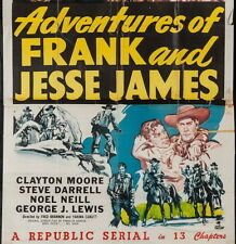 ADVENTURES OF FRANK AND JESSE JAMES, 13 CHAPTER SERIAL, 1948