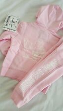 Girl's True Religion Outfit Sweatpants Hoodie Size 2T Pink SET  $138