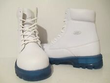 Lugz Mens Empire HI WR Casual PermaHide H2o Resistant Boots Snow White/ Ice Sz 9