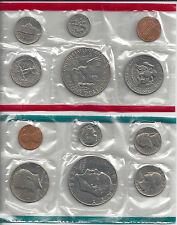 1978 US Mint Proof Coin Set NiB 2 Sets of 6 Coins Plain & S Mint