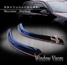 SMOKE WINDOW VENT VISORS 93-11 FORD RANGER SUPER/STANDARD/EXTEND CAB IN-CHANNEL