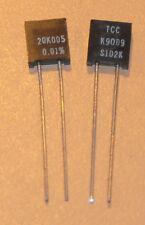 TCC/Vishay Precision Foil Resistors S102K 20.005k .01% 2pcs