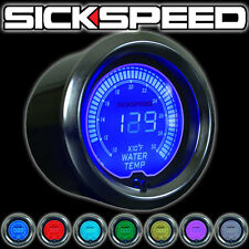 SICKSPEED HIGH PERFORMANCE 52MM WATER TEMPERATURE GAUGE P1 MULTICOLOR 7 COLOR