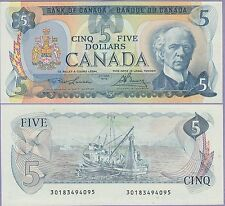 Canada 5 Dollars Banknote 1979 Choice Uncirculated Condition Cat#92-B-4095