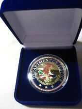 United States Department Of Justice Challenge Coin w/ Gift Box