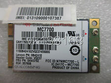 Sierra MC7700 4G LTE GPS WWAN Mobile brandband card for Lenovo Thinkpad 04W3792