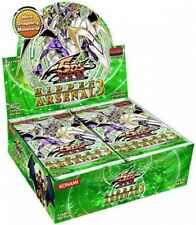 YUGIOH cards HIDDEN ARSENAL 3 Booster Box 24ct SEALED!!