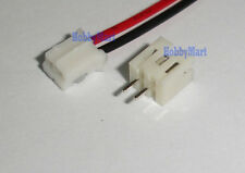 2 Sets ,PH 2.0mm JST 2-Pin Female Connector with Wire and male plug L:300mm