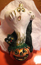 Larry Fraga YOU SCARED ME HALLOWEEN ORNAMENT #5965 New Ghost