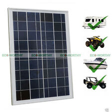 25W 12V Solar Panel 25W Watt Solar Module for Home Caravan Outdoor Camping Boat