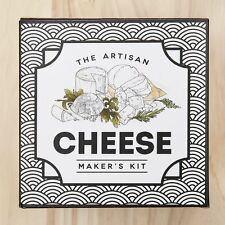 The Artisan Cheese Making Kit with Recipe Booklet Makes 10 Cheeses