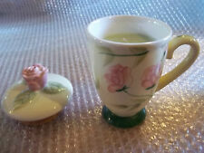 Hanna Candle Company Rose Cup with Topper (flower market))