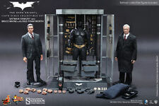 "BATMAN ARMORY with Wayne & Alfred DELUXE SET 1/6 SIXTH SCALE FIGURE 12"" HOT TOYS"